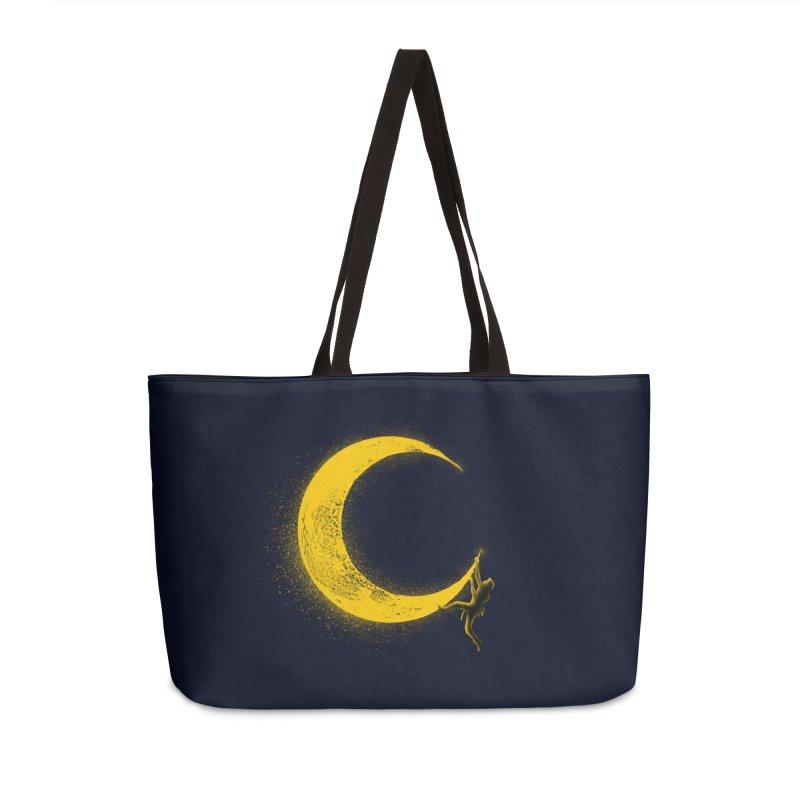 Climbing Moon Accessories Weekender Bag Bag by barmalisiRTB