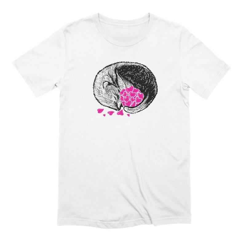 Ferret love Men's Extra Soft T-Shirt by barmalisiRTB