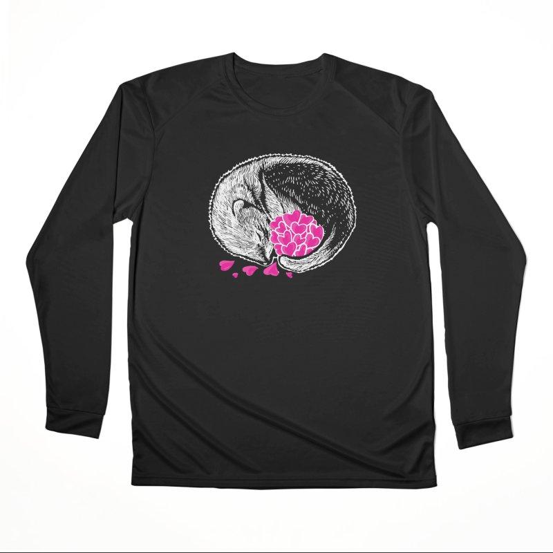 Ferret love Women's Performance Unisex Longsleeve T-Shirt by barmalisiRTB