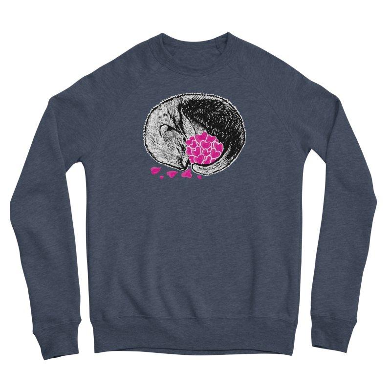 Ferret love Men's Sponge Fleece Sweatshirt by barmalisiRTB