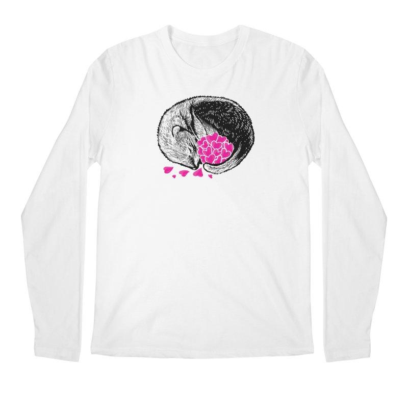 Ferret love Men's Regular Longsleeve T-Shirt by barmalisiRTB