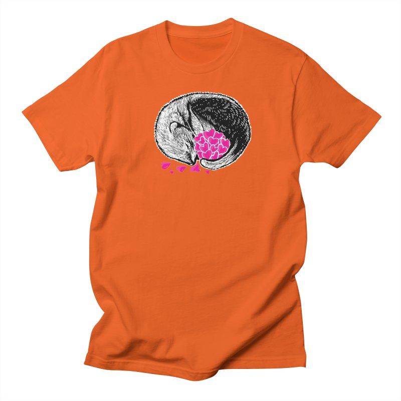 Ferret love Men's Regular T-Shirt by barmalisiRTB