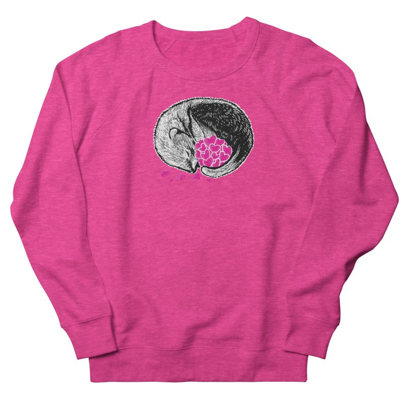 Ferret love Women's French Terry Sweatshirt by barmalisiRTB