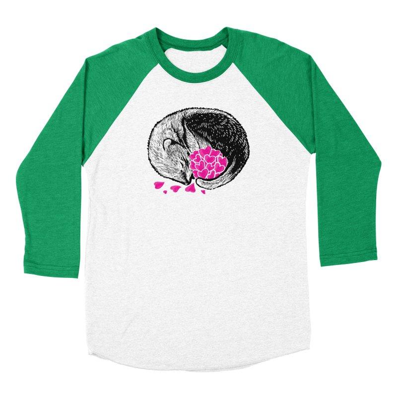 Ferret love Men's Baseball Triblend Longsleeve T-Shirt by barmalisiRTB