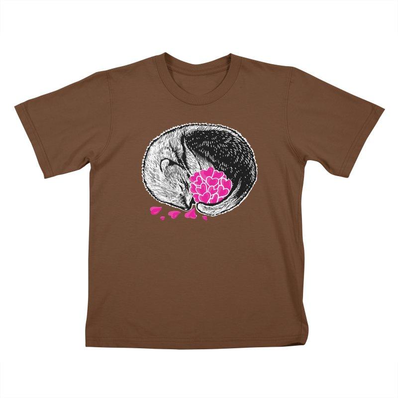 Ferret love Kids T-Shirt by barmalisiRTB