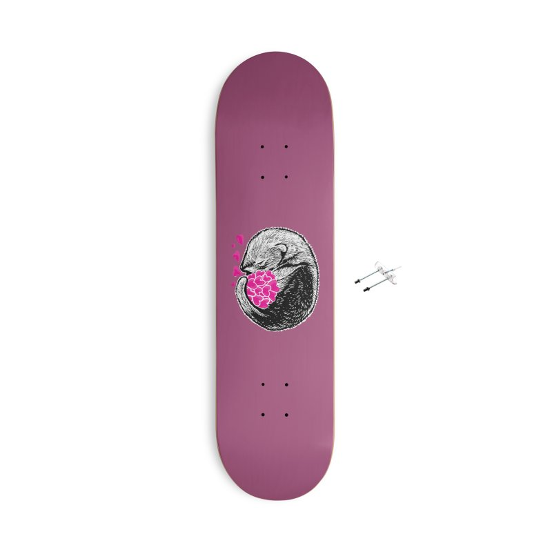 Ferret love Accessories With Hanging Hardware Skateboard by barmalisiRTB