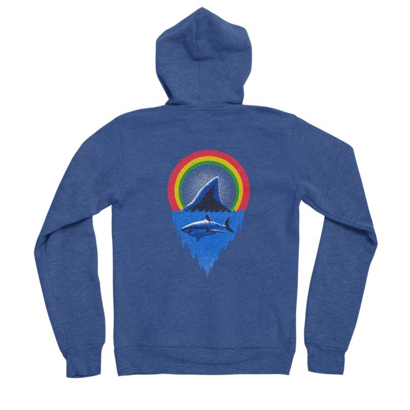 Save the shark Women's Sponge Fleece Zip-Up Hoody by barmalisiRTB