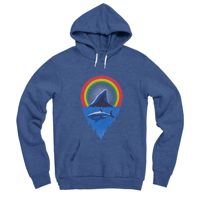 Save the shark Men's Sponge Fleece Pullover Hoody by barmalisiRTB
