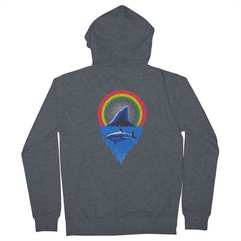 Save the shark Men's French Terry Zip-Up Hoody by barmalisiRTB