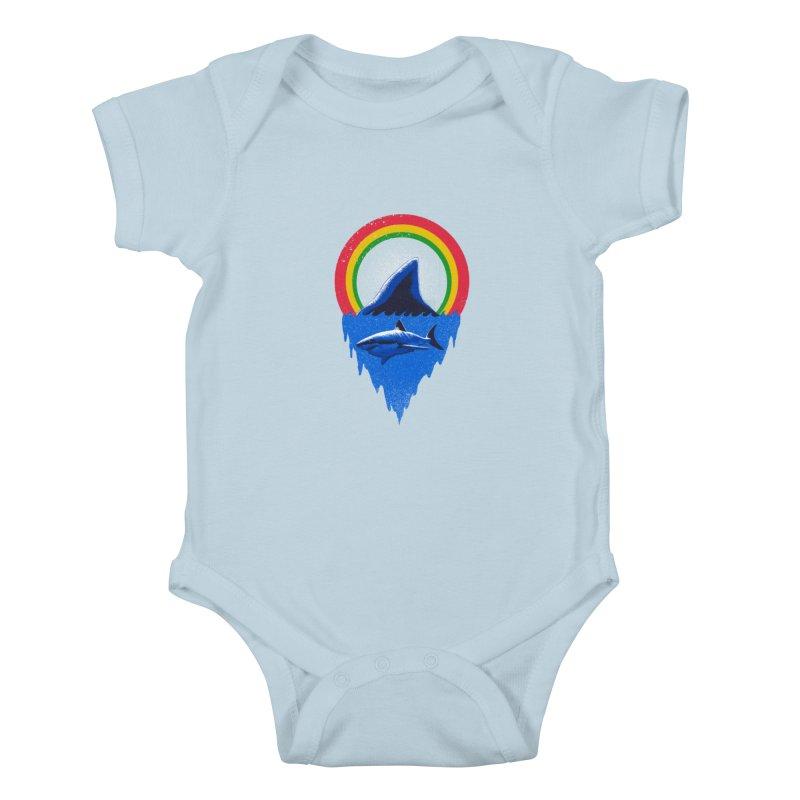Save the shark Kids Baby Bodysuit by barmalisiRTB