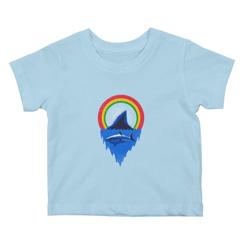 Save the shark Kids Baby T-Shirt by barmalisiRTB