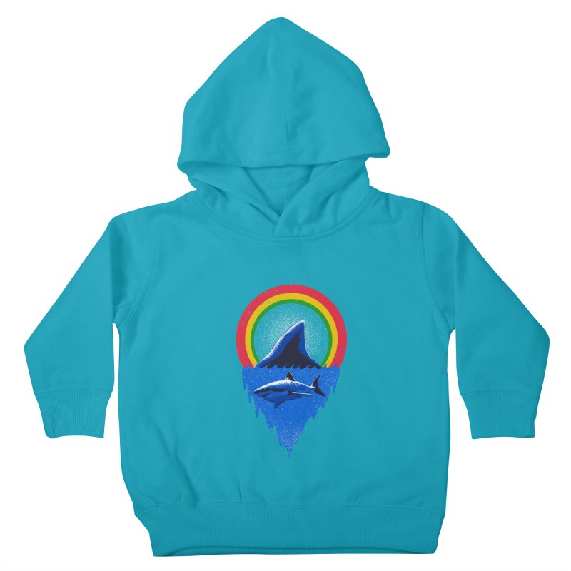 Save the shark Kids Toddler Pullover Hoody by barmalisiRTB