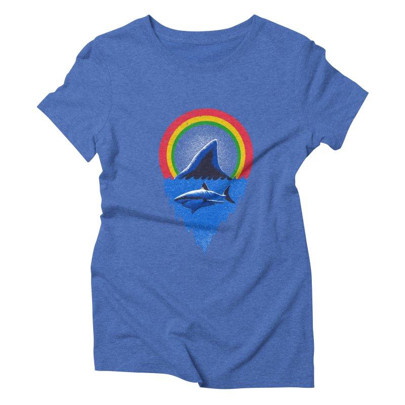 Save the shark Women's Triblend T-Shirt by barmalisiRTB