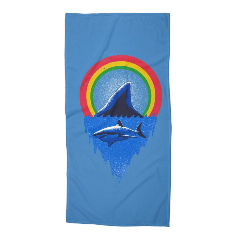 Save the shark Accessories Beach Towel by barmalisiRTB
