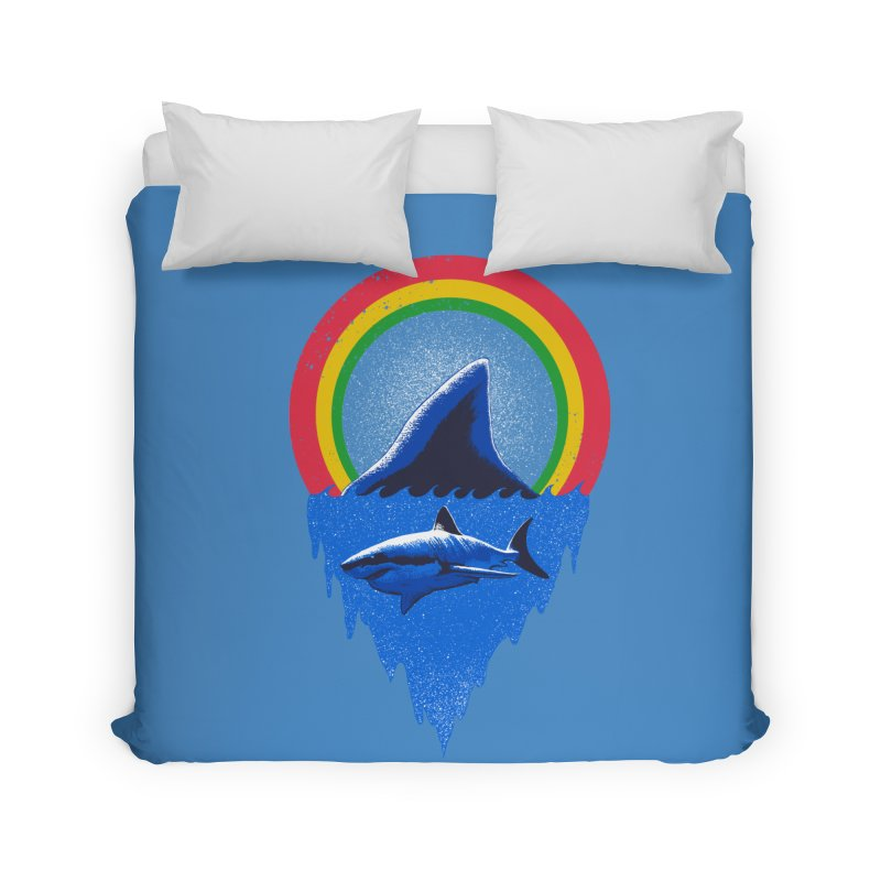 Save the shark Home Duvet by barmalisiRTB