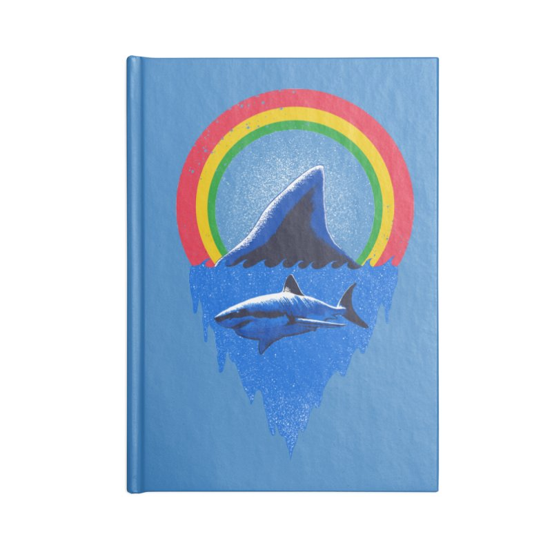 Save the shark Accessories Lined Journal Notebook by barmalisiRTB