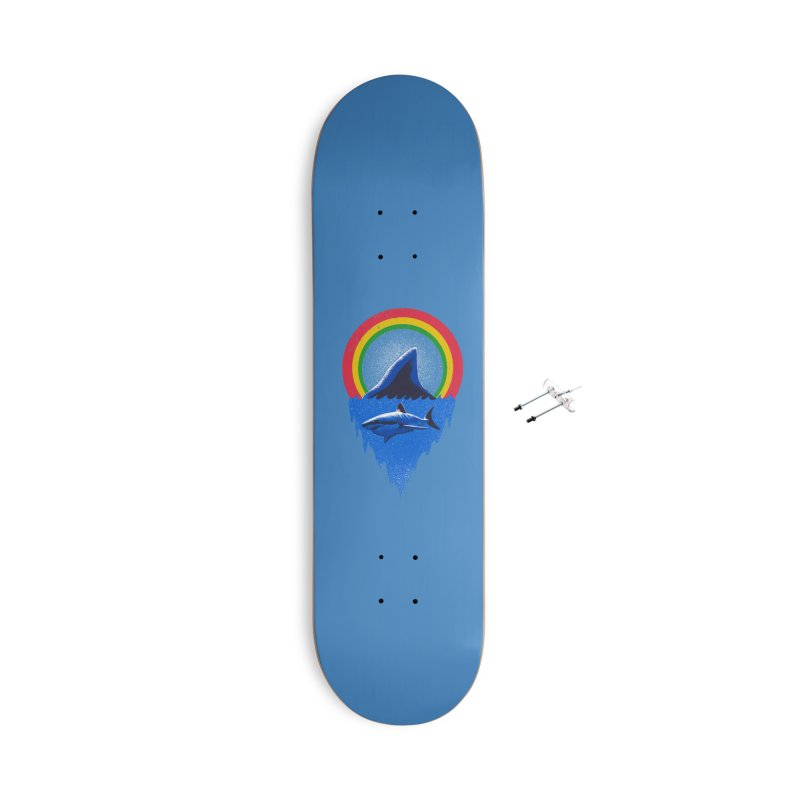 Save the shark Accessories With Hanging Hardware Skateboard by barmalisiRTB