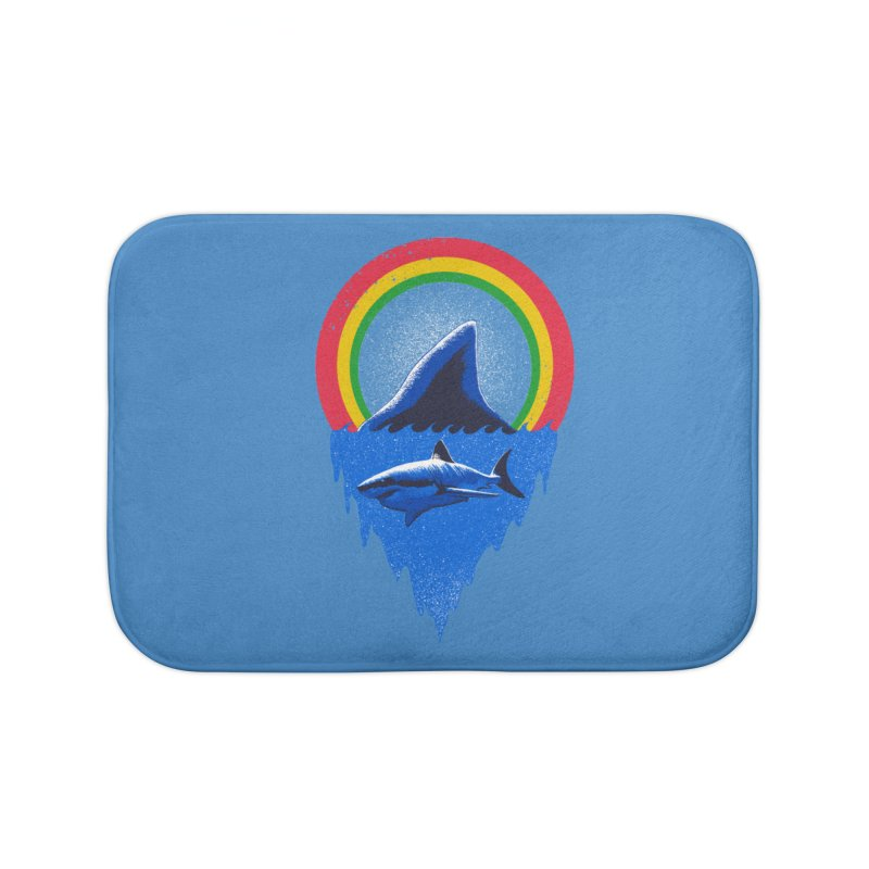 Save the shark Home Bath Mat by barmalisiRTB