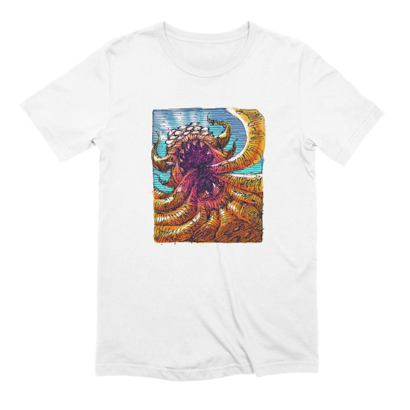 Tentacle monster Men's Extra Soft T-Shirt by barmalisiRTB