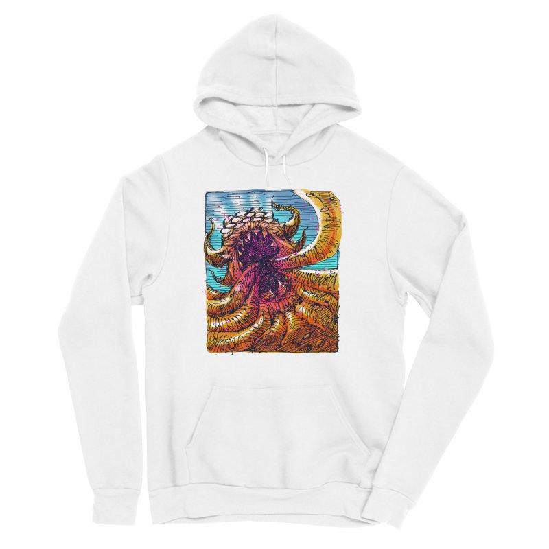 Tentacle monster Men's Sponge Fleece Pullover Hoody by barmalisiRTB
