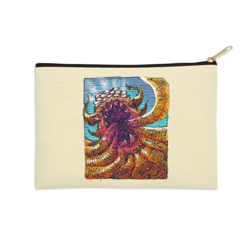 Tentacle monster Accessories Zip Pouch by barmalisiRTB