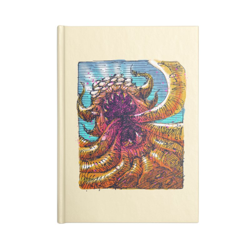 Tentacle monster Accessories Blank Journal Notebook by barmalisiRTB