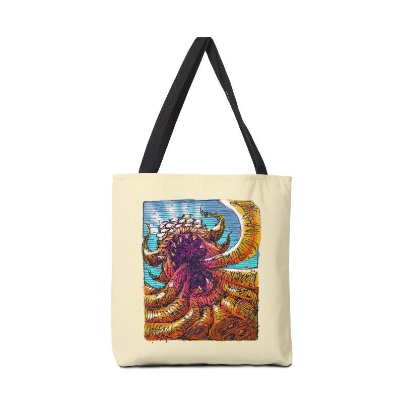 Tentacle monster Accessories Tote Bag Bag by barmalisiRTB