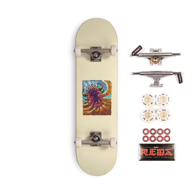 Tentacle monster Accessories Complete - Pro Skateboard by barmalisiRTB