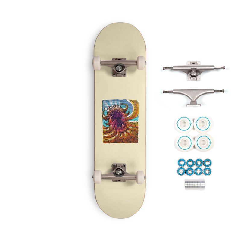 Tentacle monster Accessories Complete - Basic Skateboard by barmalisiRTB