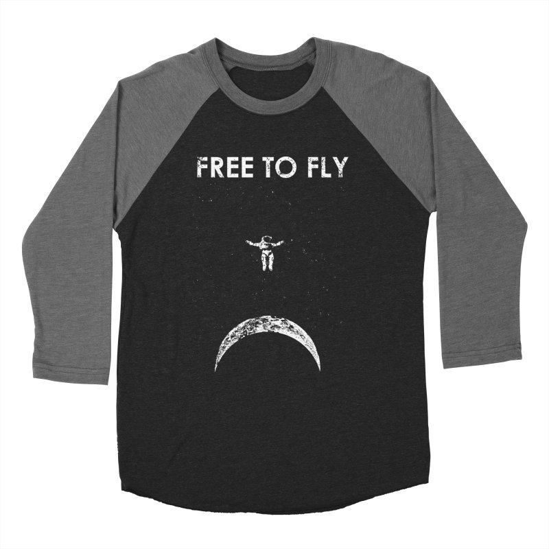 free to fly Men's Baseball Triblend T-Shirt by barmalisiRTB