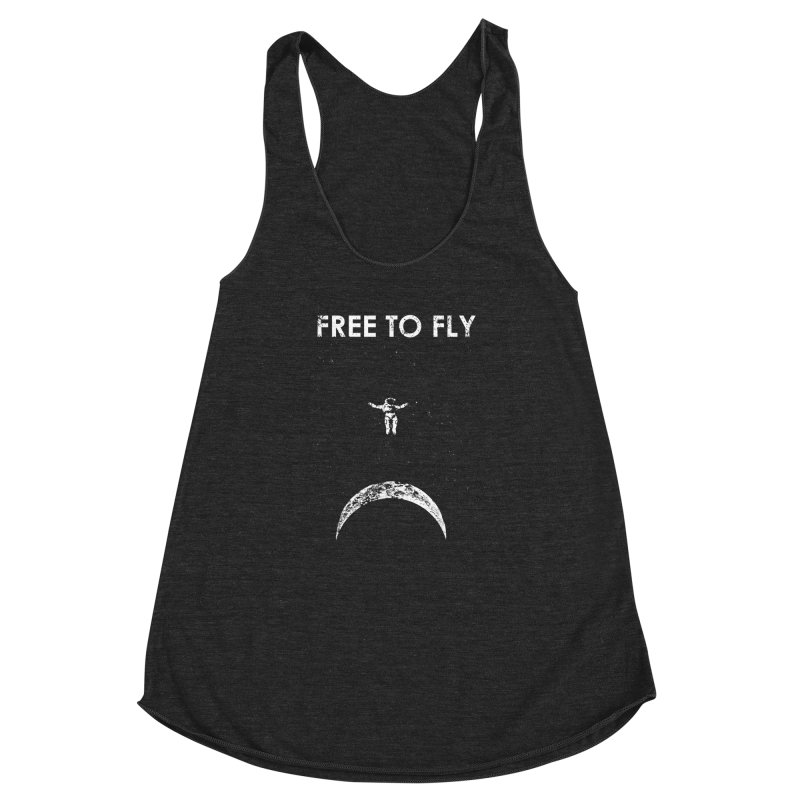 free to fly Women's Racerback Triblend Tank by barmalisiRTB