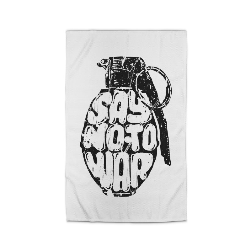 Say NO to WAR Home Rug by barmalisiRTB