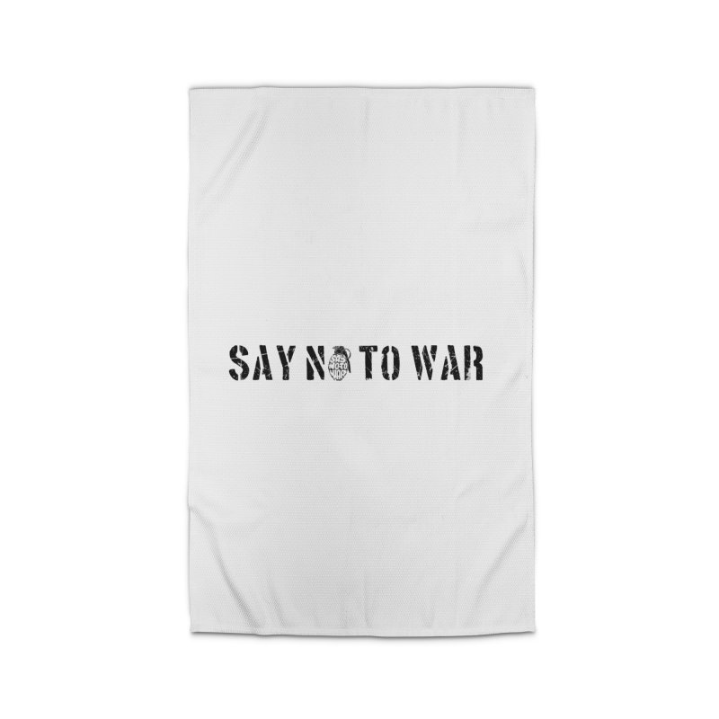 No War Home Rug by barmalisiRTB