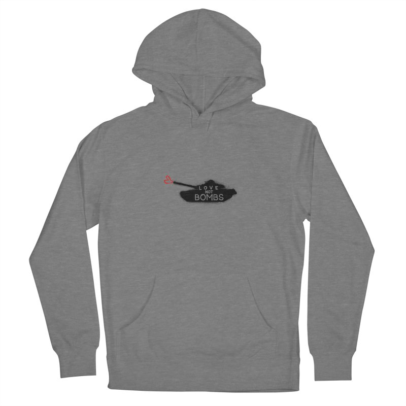 Love not bomb Women's Pullover Hoody by barmalisiRTB