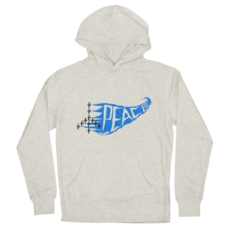 Peace Plane Men's Pullover Hoody by barmalisiRTB