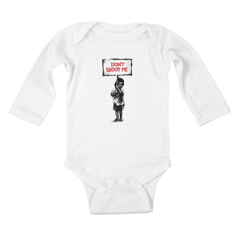 Dont shoot me Kids Baby Longsleeve Bodysuit by barmalisiRTB