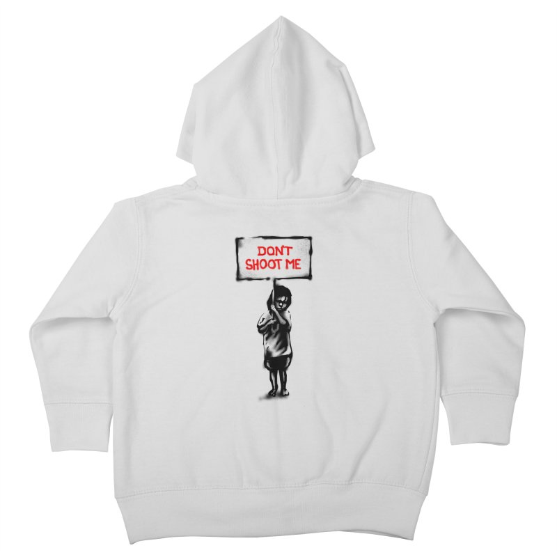 Dont shoot me Kids Toddler Zip-Up Hoody by barmalisiRTB