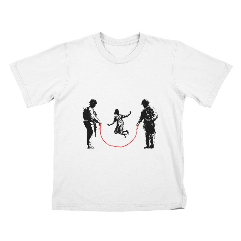 Happy children Kids T-shirt by barmalisiRTB