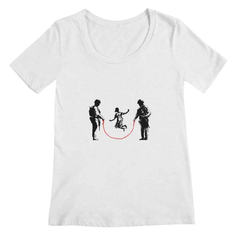 Happy children Women's Scoopneck by barmalisiRTB