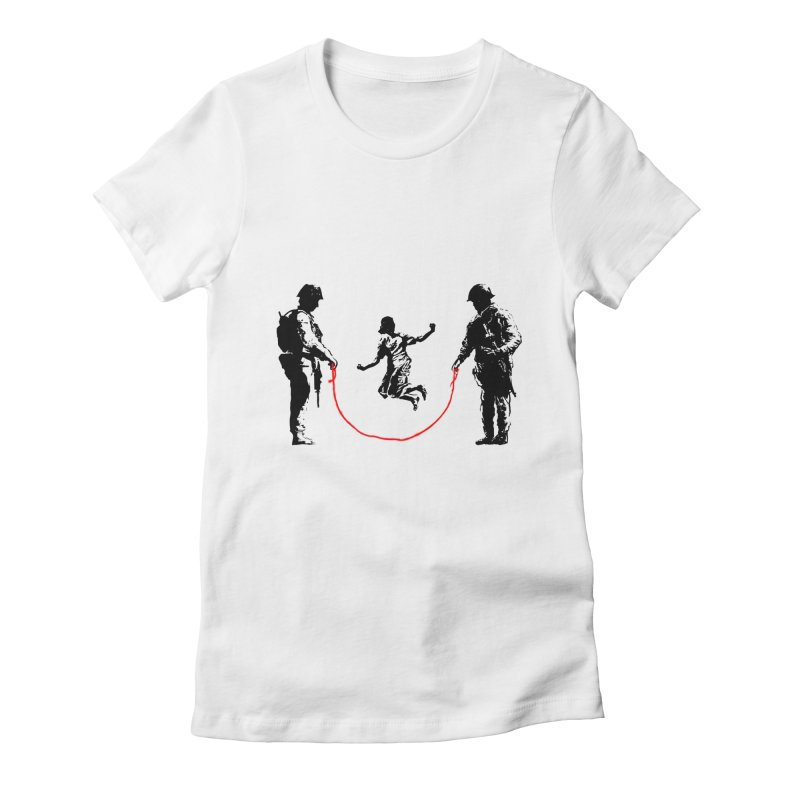 Happy children Women's Fitted T-Shirt by barmalisiRTB