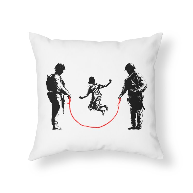 Happy children Home Throw Pillow by barmalisiRTB