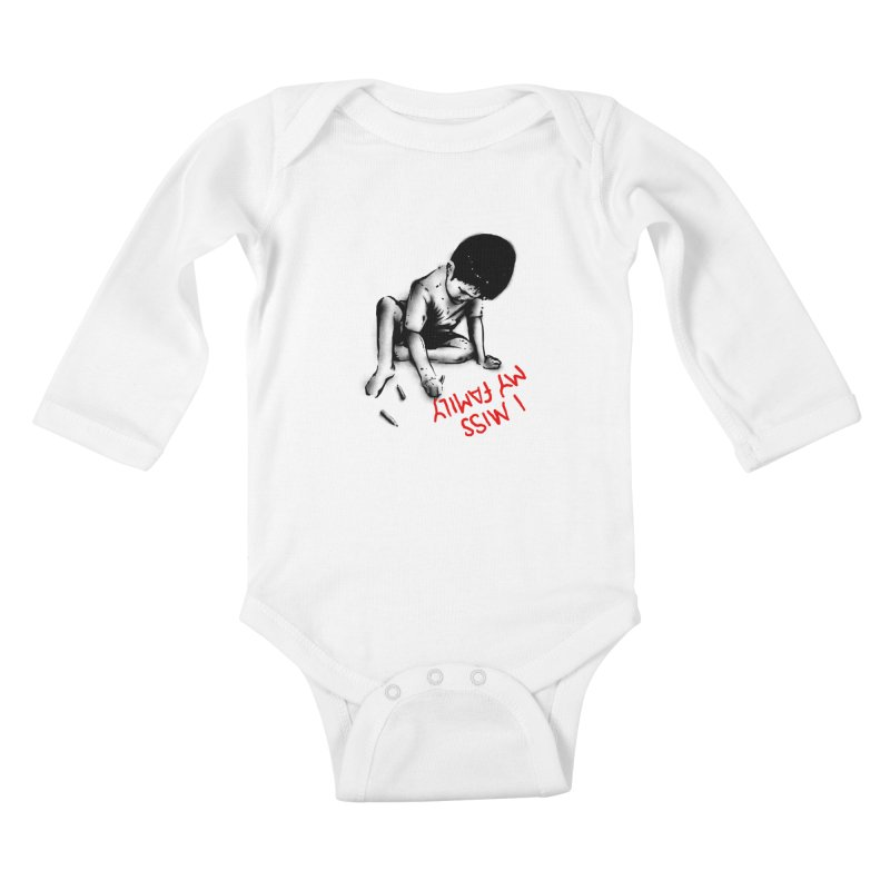 I Miss My Family Kids Baby Longsleeve Bodysuit by barmalisiRTB
