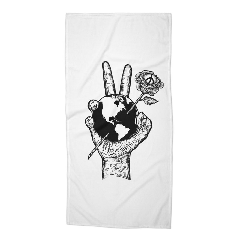 peace world Accessories Beach Towel by barmalisiRTB