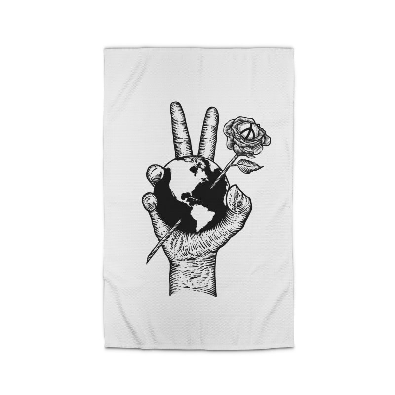 peace world Home Rug by barmalisiRTB