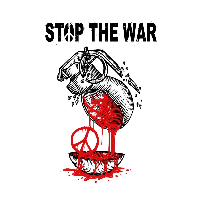 Stop The War Home Tapestry by barmalisiRTB