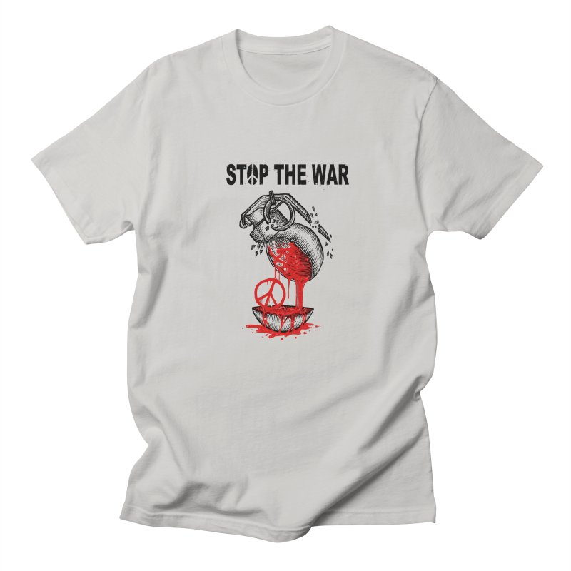 Stop The War Men's T-Shirt by barmalisiRTB
