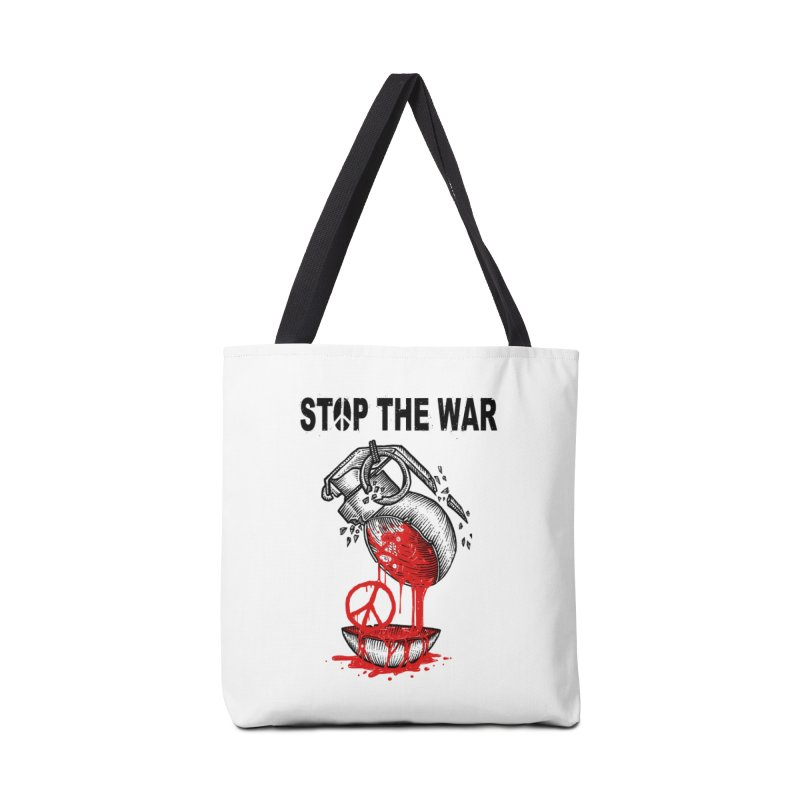 Stop The War Accessories Bag by barmalisiRTB