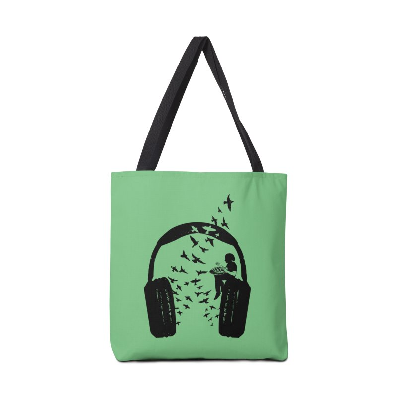 Headphone Hang Drum Accessories Tote Bag Bag by barmalisiRTB