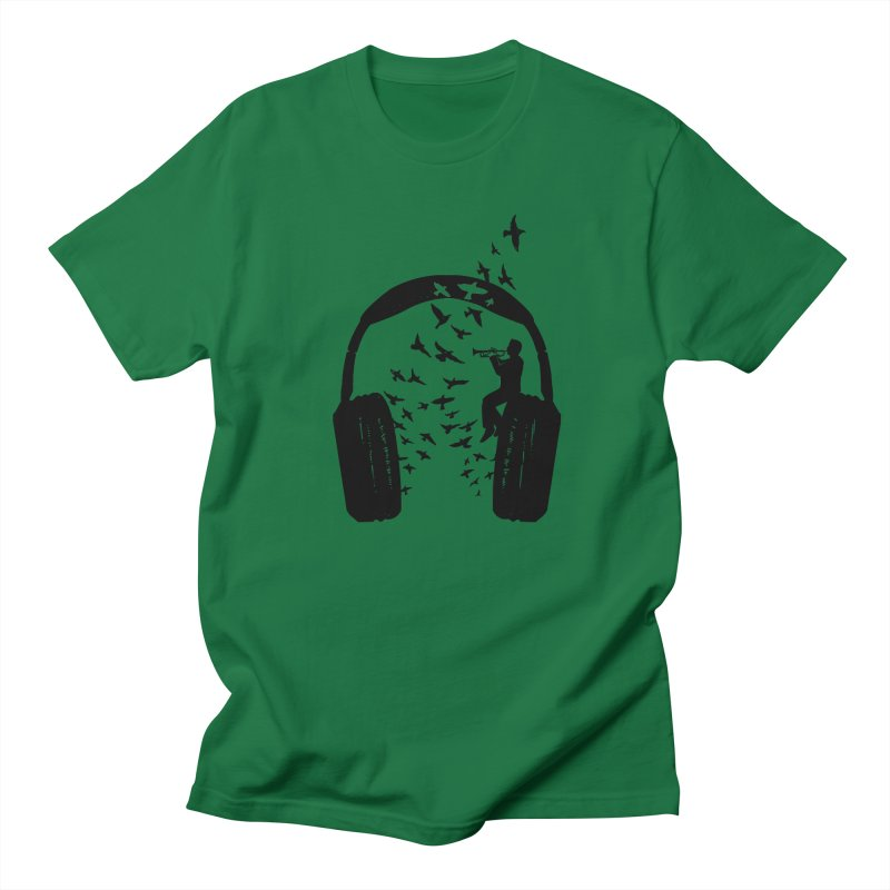 Headphone Trumpet Men's T-Shirt by barmalisiRTB