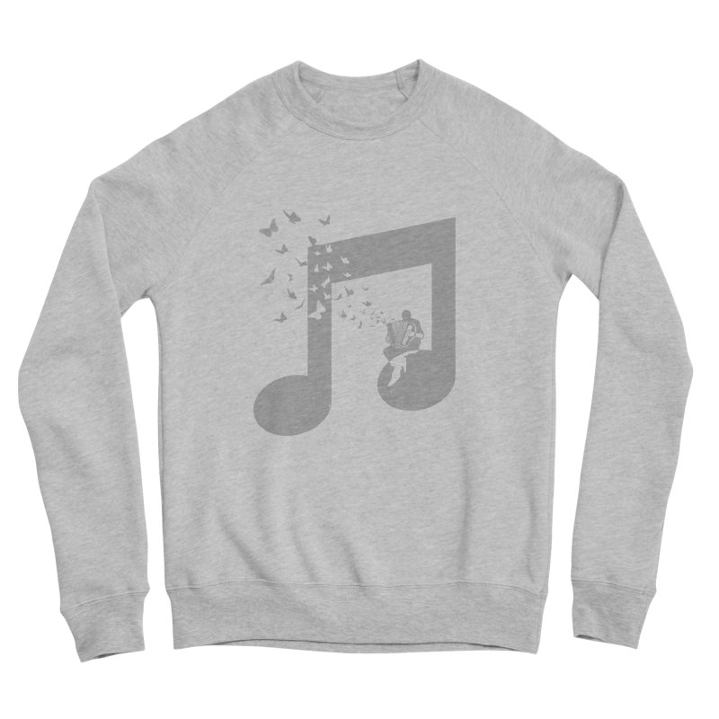 Accordion Butterfly Men's Sponge Fleece Sweatshirt by barmalisiRTB